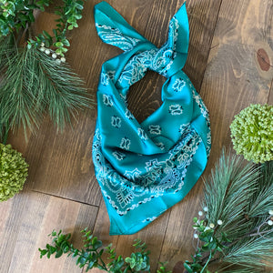 Wild Rags - Classic Paisley Collection (11 colors)