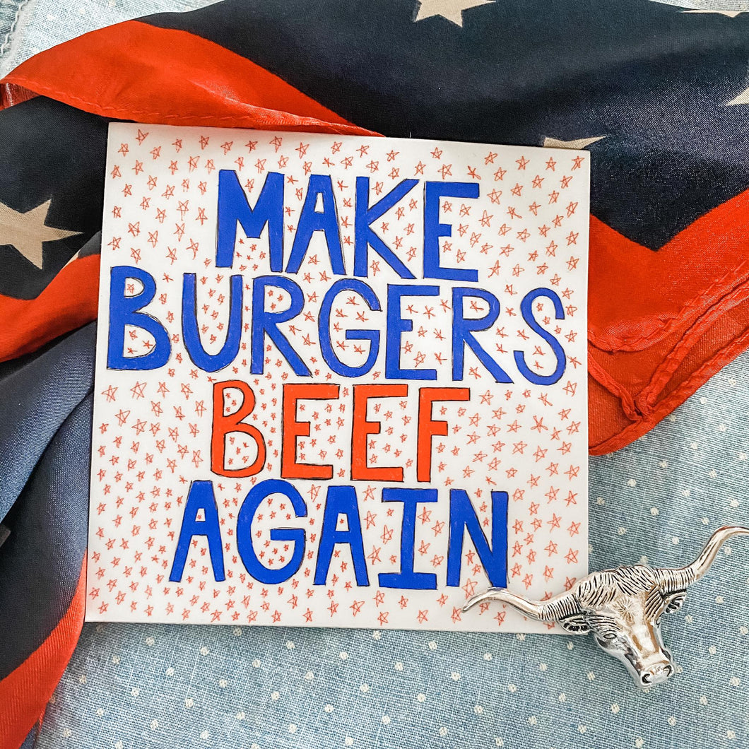 Sticker - Make Burgers Beef Again