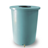Villa | Tijeras Rain Barrel | Turquoise | 55 Gallon Vertical