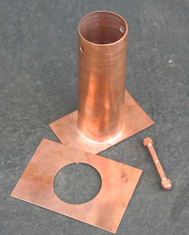 "6"" Installation Kit Copper 