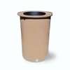 "Cubo | Latte | 200 Gallon Vertical | 17"" Basket - Tijeras Rain Barrels"