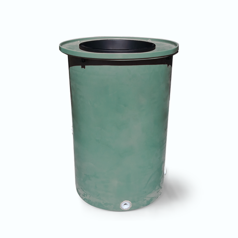 "Cubo | Sherwood Green | 200 Gallon Vertical | 17"" Basket"