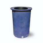 "Agua Fria | Blueberry with Speckle | 100 Gallon Vertical | 17"" Basket Top"