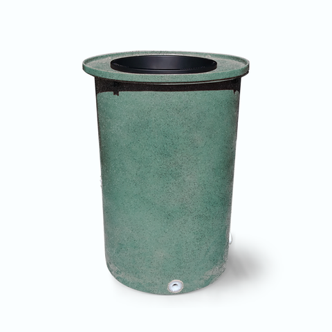 "Cubo | Sherwood Green with Speckle | 200 Gallon Vertical | 17"" Basket"