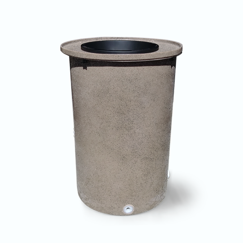 "Agua Fria | Wickertone with Speckle | 100 Gallon Vertical | 17"" Basket Top"