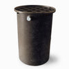 Agua Fria | Black With Speckle | 360 Gallon Vertical | Canale Flat Top (Polka Dot)