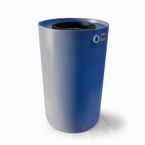 Villa | Tijeras Rain Barrel | Blueberry | 100 Gallon Vertical - Tijeras Rain Barrels