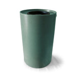 Villa | Tijeras Rain Barrel | Sherwood Green with Speckle | 100 Gallon Vertical - Tijeras Rain Barrels