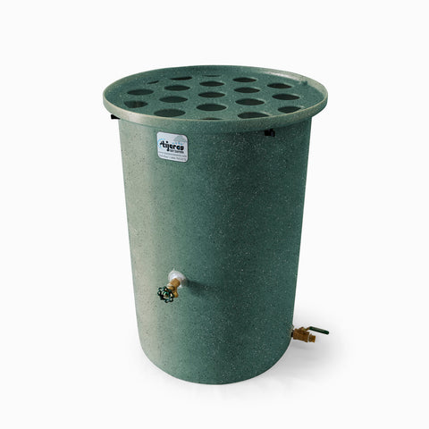 Agua Fria | Sherwood Green With Speckle | 100 Gallon Vertical | Canale Flat Top (Polka Dot)