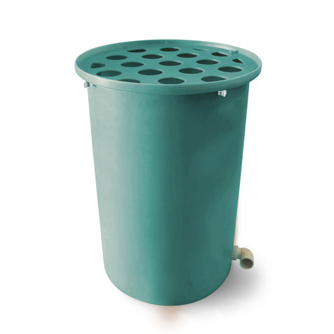 Cubo | Turquoise | 100 Gallon Vertical | Polka Dot Top