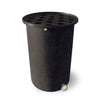 Cubo | Black with Speckle  | 55 Gallon Vertical | Polka Dot Top - Tijeras Rain Barrels