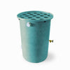Agua Fria | Turquoise With Speckle | 200 Gallon Vertical | Canale Flat Top (Polka Dot)