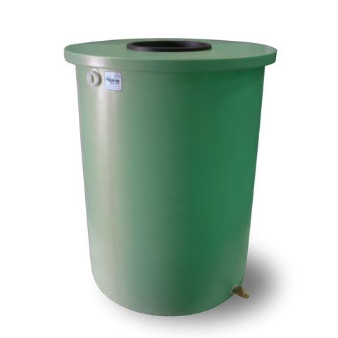 Villa | Tijeras Rain Barrel | Bright Green | 360 Gallon Vertical - Tijeras Rain Barrels