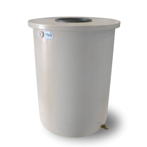 Villa | Tijeras Rain Barrel | White | 200 Gallon Vertical - Tijeras Rain Barrels