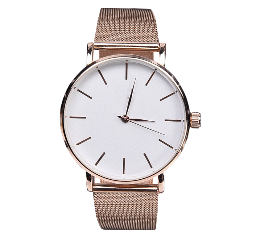 Rosemat Metal Watch