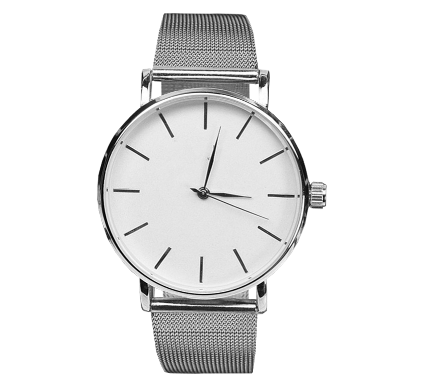 Silvermat Metal Watch