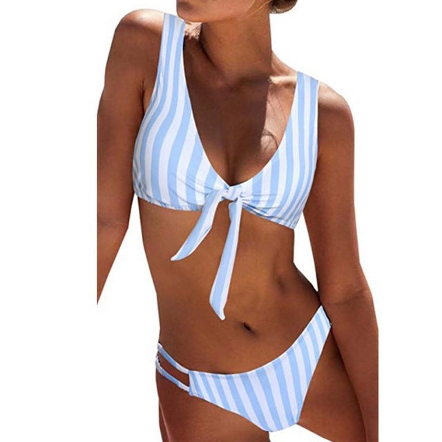 Women's Sexy Detachable Padded Cutout Swimsuit