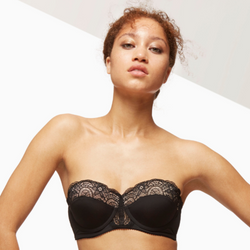 Multifunction Padded Lace Bra