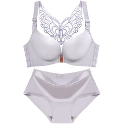 Beautiful Butterfly Big Size Sexy Bra and Panty Set