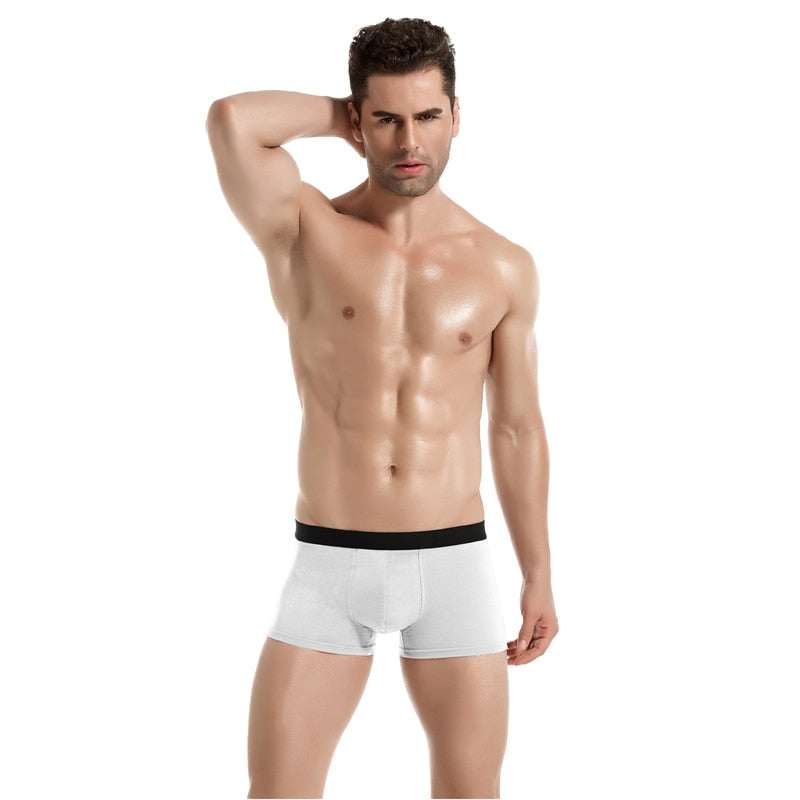 8pcs/lot Breathable Cotton Underpants for Men
