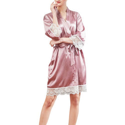 New Women's Satin Silk Sleepwear Nightdress Lingerie