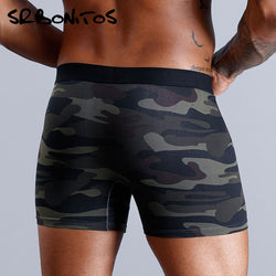 Natural Cotton Camo Boxer