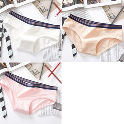 3PCS High-Quality Low Waist Cotton Panties