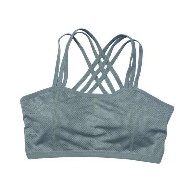 Women's Seamless Wire Free Crop Top