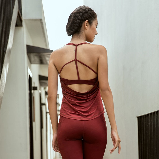 Women Sexy Strappy Hollow Out Halter Top