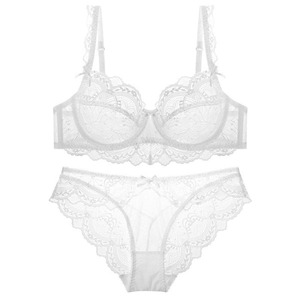 Ultra-thin Sexy Lace Lingerie set