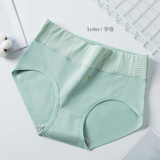 Delightful Women High Waist Soft Cotton Panties