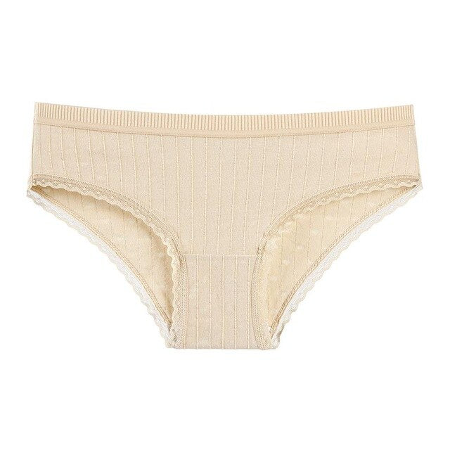 Women Mid Rise Butt Lifter Cotton Panties