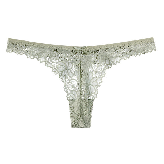 Sexy Hollow Out Lace Comfy Panties