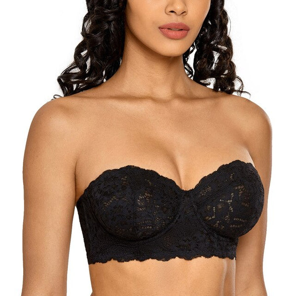 Women's Lace Strapless Bralette