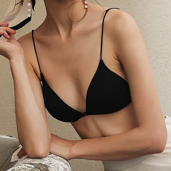 Women Front Closure Wireless Bra