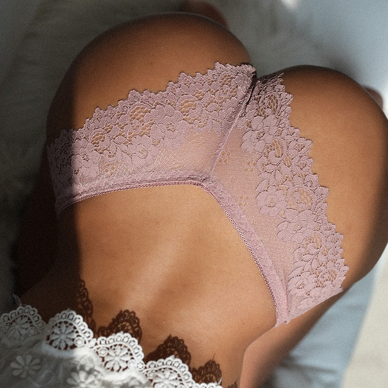 Alluring Sexy Hollow Out Lace G-String