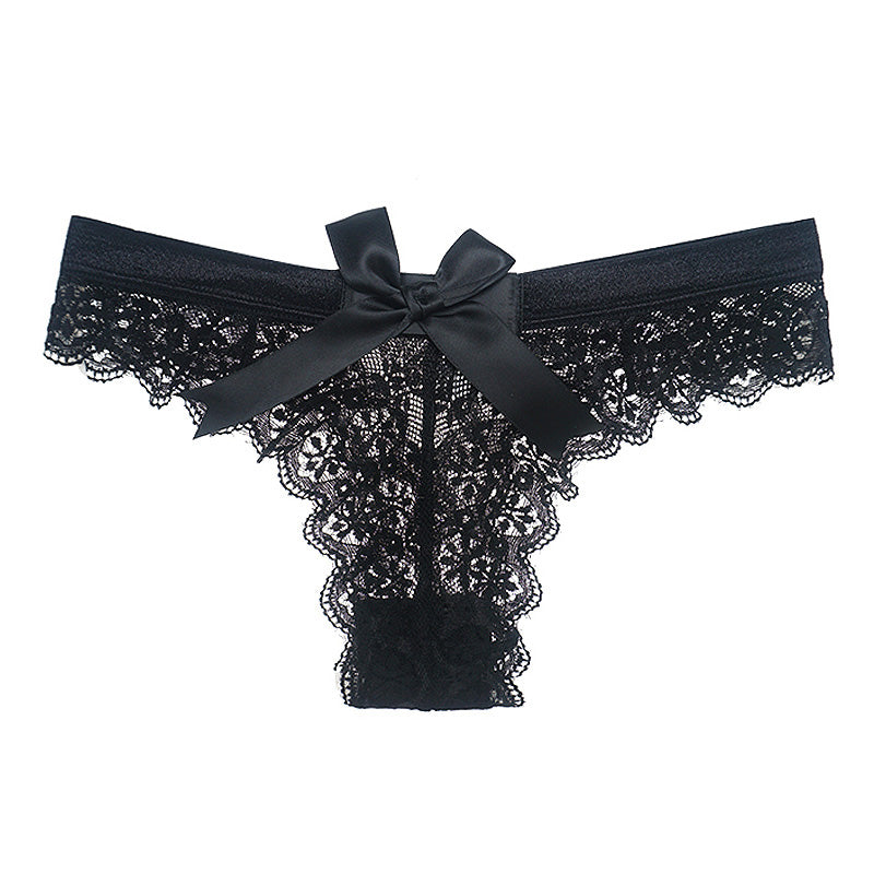 Sultry Floral Lace G String