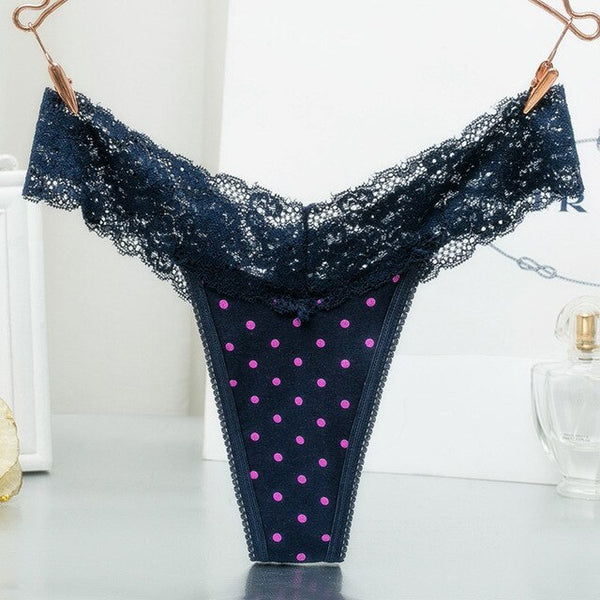 Sexy Lace G String Low-waist Panties
