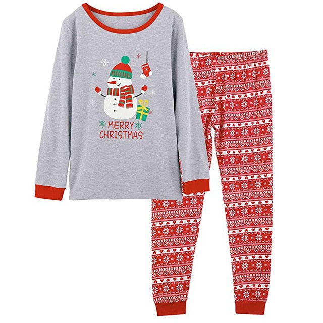 Christmas Family Clothes Pajamas Set