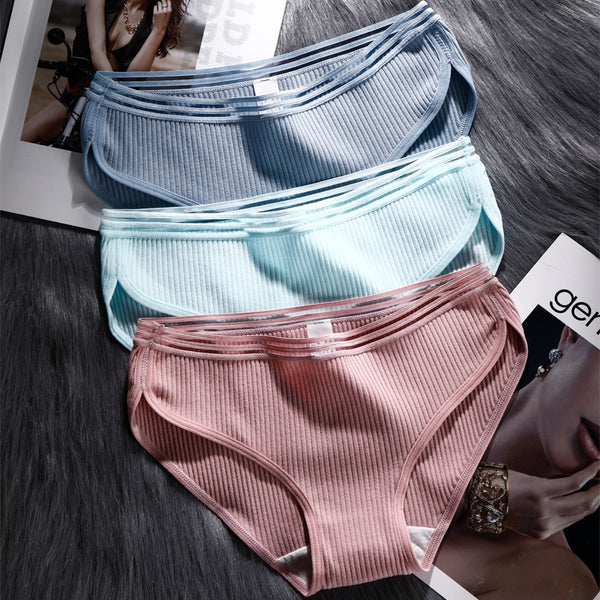 Women's Cotton Mid-rise Panties