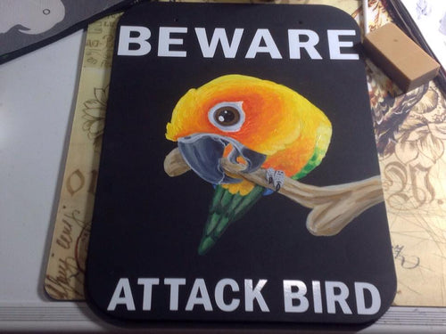 Beware Attack Bird