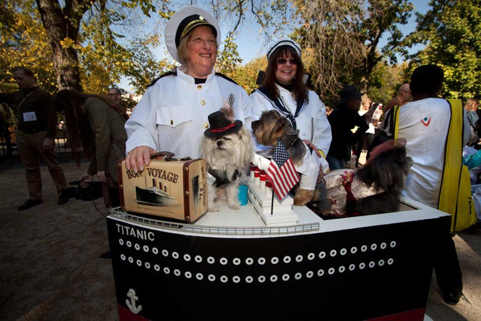 The Best Costumes from the 2014 Halloween Dog Parade