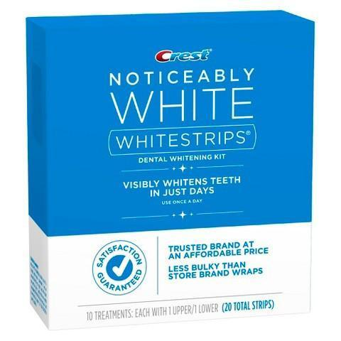 Crest Noticeably White Whitestrips 20 Strips - Crest Whitestrips United Kingdom