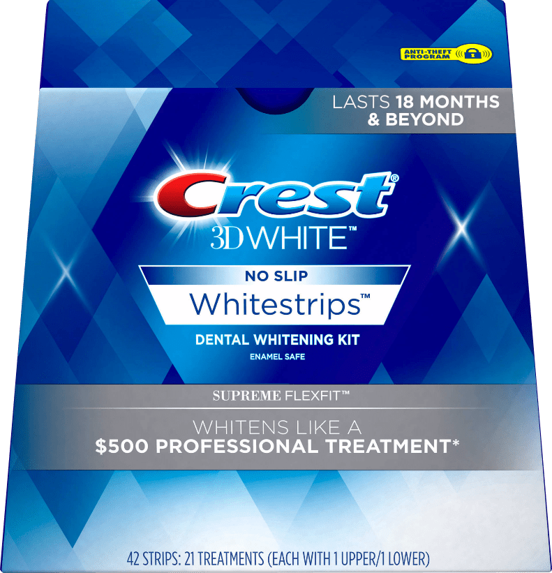 Crest 3D Whitestrips Supreme Flexfit