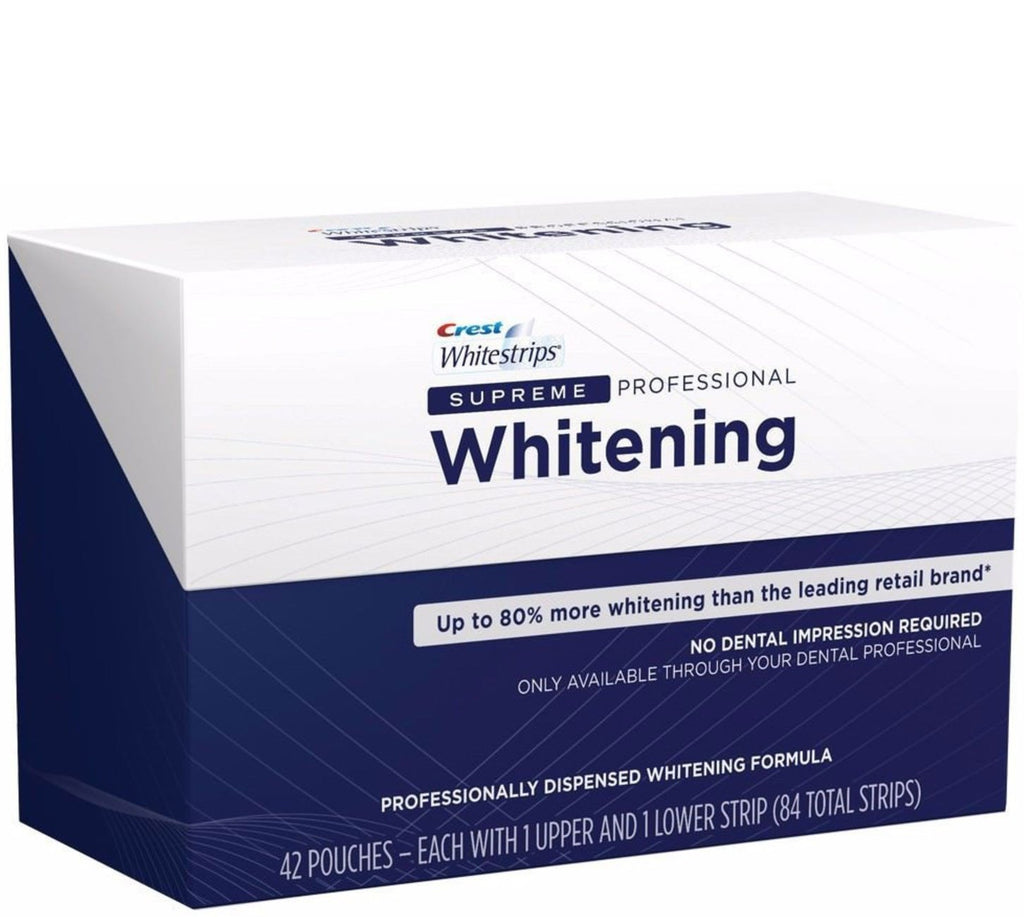 Crest 3D Whitestrips Supreme Professional Strength