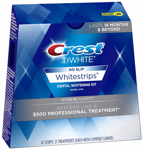 Crest 3D Whitestrips Supreme Flexfit Treatment