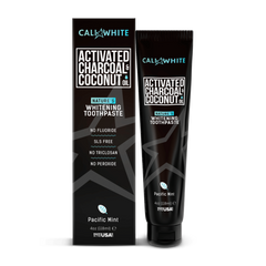 Activated Charcoal & Organic Coconut Oil Toothpaste