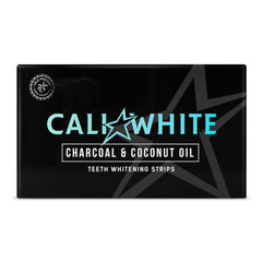 Charcoal & Coconut Oil Teeth Whitening Strips - Zero Peroxide