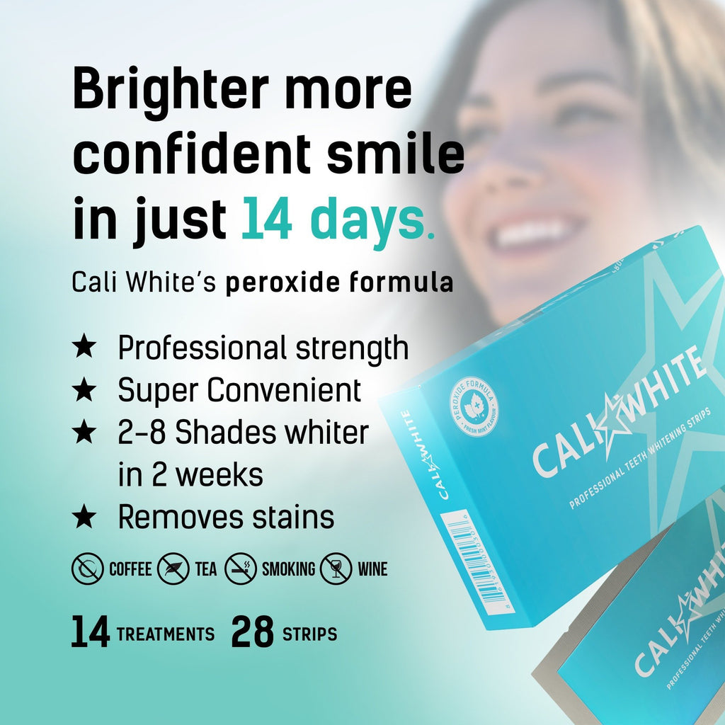 Teeth Whitening Strips Professional Strength