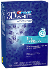 Crest 3D Whitestrips 1 HOUR Express Treatment